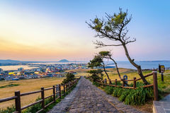 Jeju Island Korea. Jeju-Do Seongsan Ilchulbong Jeju Island South Korea Royalty Free Stock Photo