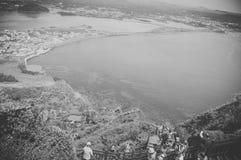 Jeju Island, KOREA - OCTOBER 12: SONGSAN ILCHULBONG in Jeju do ,. South Korea - 12 OCTOBER 2014 royalty free stock image