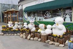 Jeju Island Mascots Stock Photography