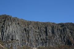 JEJU ISLAND MT.HALLA stock images