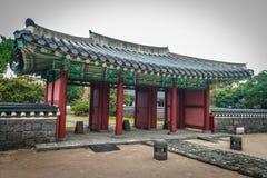 Jeju Mokgwana die, het oudste blijven Jeju voor eerstgenoemde inbouwen royalty-vrije stock afbeelding