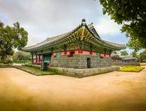 Jeju Mokgwana die, het oudste blijven Jeju voor eerstgenoemde inbouwen royalty-vrije stock afbeeldingen