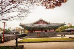Jeju Mokgwana die, het oudste blijven Jeju voor eerstgenoemde inbouwen stock foto