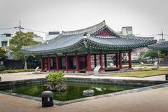 Jeju Mokgwana die, het oudste blijven Jeju voor eerstgenoemde inbouwen stock foto's