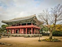 Jeju Mokgwana die, het oudste blijven Jeju voor eerstgenoemde inbouwen royalty-vrije stock foto