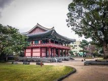 Jeju Mokgwana die, het oudste blijven Jeju voor eerstgenoemde inbouwen stock afbeelding