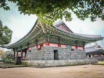 Jeju Mokgwana die, het oudste blijven Jeju voor eerstgenoemde inbouwen stock afbeeldingen