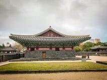 Jeju Mokgwana die, het oudste blijven Jeju voor eerstgenoemde inbouwen stock fotografie