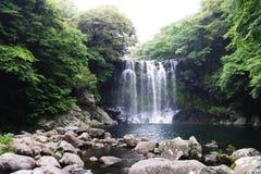 Jeju nedgång Royaltyfria Foton