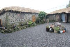 Jeju Seongeup Folk Village Stock Images