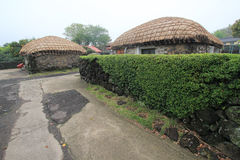 Jeju Seongeup Folk Village Royalty Free Stock Image