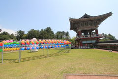 Jeju Yaoquansi temple in South Korea Royalty Free Stock Photos