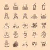 Jejua e a comida lixo Foto de Stock
