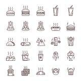 Jejua e a comida lixo Imagem de Stock