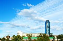 JEKATERINBURG RUSSLAND - AUGUST 15,2015: Feier des Festtages der Stadt lizenzfreies stockbild