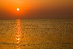 Jekyll wyspy wschód słońca Zdjęcia Royalty Free