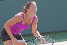 Jelena JANKOVIC at the 2009 BNP Paribas Open Royalty Free Stock Image