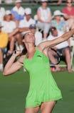 Jelena Jankovic at the 2010 BNP Paribas Open. Tennis tournament at Indian Wells, California Royalty Free Stock Photos