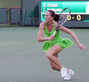 Jelena Jankovic at the 2010 BNP Paribas Open Royalty Free Stock Photo