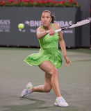 Jelena Jankovic at the 2010 BNP Paribas Open Royalty Free Stock Photography