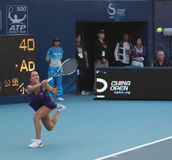 Jelena Jankovic (SRB), jogador de ténis profissional Imagens de Stock Royalty Free