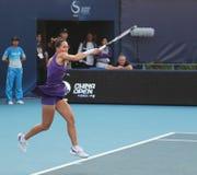 Jelena Jankovic (SRB), professional tennis player. Jelena Jankovic (SRB) at the China Open Tennis Tournament 2009 Royalty Free Stock Image