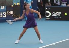 Jelena Jankovic (SRB), professional tennis player. Jelena Jankovic (SRB) at the China Open Tennis Tournament 2009 Stock Photography