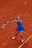 Jelena Jankovic (SRB) at Roland Garros 2009 Stock Photography