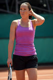 Jelena JANKOVIC (SRB) at Roland Garros 2010 Stock Photography