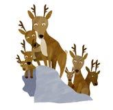 jeleni ilustracja wektor