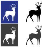 Jeleni logotyp Obraz Stock