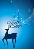 jeleni śnieg Royalty Ilustracja