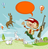 jeleni polowanie Zdjęcie Stock