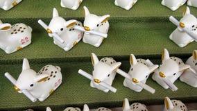 Jeleni pomyślność narratorzy w Kasuga Taisha świątyni w Nara, Japonia Zdjęcie Stock