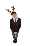 jeleni rogi obsługują s target3464_0_ potomstwa Zdjęcie Stock