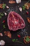 Jeleni stek zdjęcie royalty free