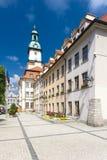 Jelenia Gora, Slesia, Polonia Fotografia Stock