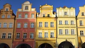 Jelenia Gora - Stadt in Polen Lizenzfreie Stockfotografie