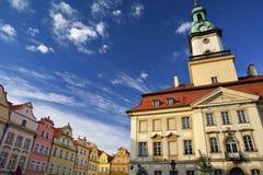 Jelenia Gora - Stadt in Polen Stockfotografie