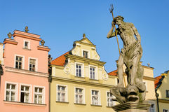Jelenia Gora well. Jelenia Gora in Poland, the famous well statue Royalty Free Stock Photography