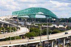 Jelenia most, Jacksonville, FL Obrazy Stock