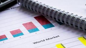 Jelenie i wykresy Pojęcie wizerunek dane zgromadzenie i statystyczny działanie Księgowość dane analiza zbiory wideo