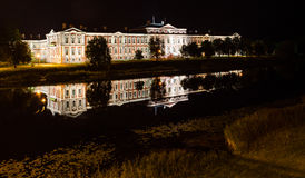 Jelgava castle Stock Photo