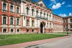 Jelgava eller Mitava slott i Lettland arkivfoton