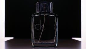 Jelgava Lettland, Calvin Klein parfume 12/09/2017 Arkivbild