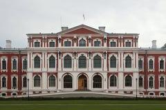 Jelgava Palace also known as Mitava Palace in Jelgava, Latvia. Royalty Free Stock Photo