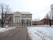 Jelgava town street, Latvia Stock Images