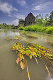 Jelka water mill Stock Images