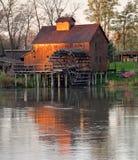 Jelka Watermill Royalty-vrije Stock Foto
