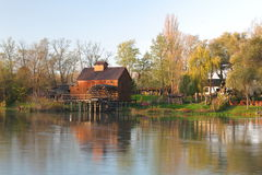 Jelka Watermill Obrazy Royalty Free